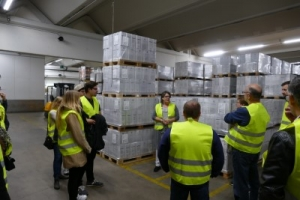 Förderverein zu Gast bei Dualem Partner Weingärtner Zentralgenossenschaft (WZG) in Möglingen 2
