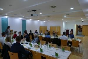 Förderverein zu Gast bei Dualem Partner Weingärtner Zentralgenossenschaft (WZG) in Möglingen