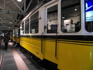 Förderverein zu Gast im Straßenbahnmuseum
