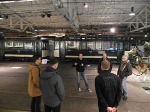 Förderverein zu Gast im Straßenbahnmuseum 6